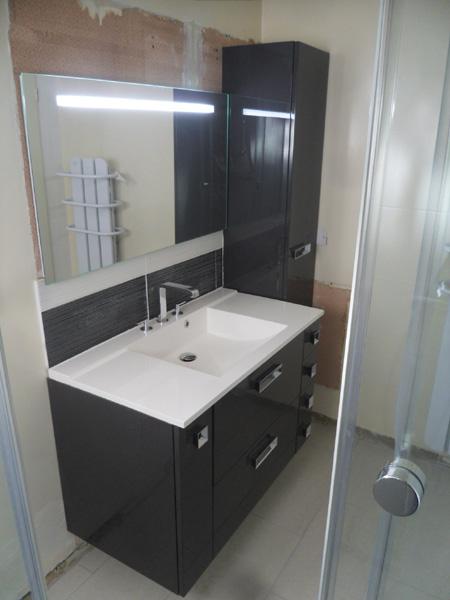 Cr ation et installation de salle de bain val d 39 oise 95 - Meuble de salle d eau ...