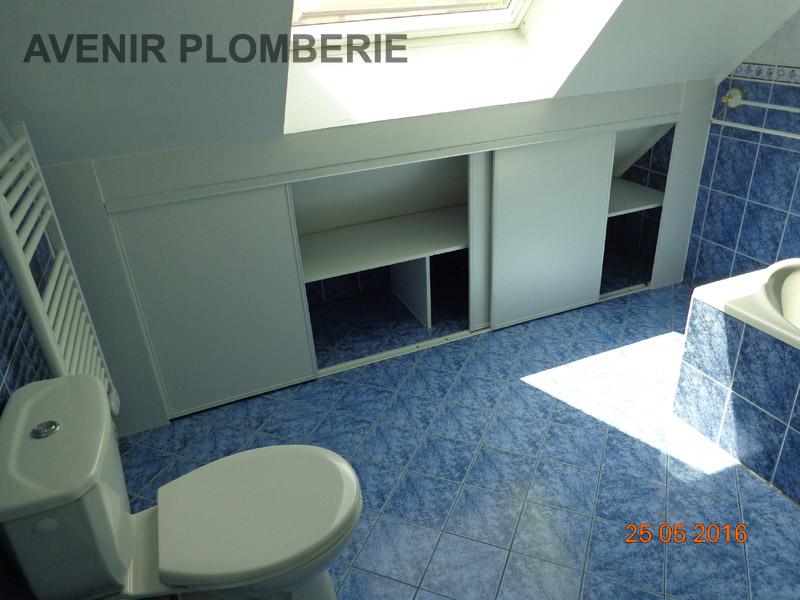 R alisations diverses plomberie val d 39 oise 95 for Amenagement placard salle de bain
