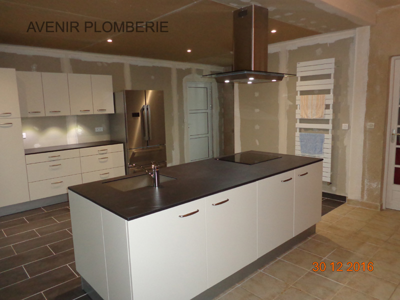 Cuisine installation meubles fa ence vier val d 39 oise 95 for Installation cuisine equipee