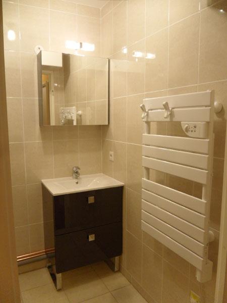 Cr ation et installation de salle de bain val d 39 oise 95 for Miroir 90x90